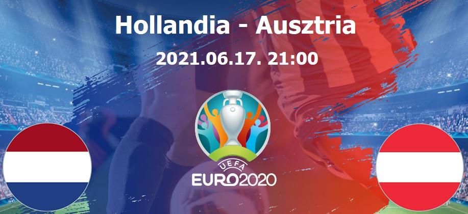 Hollandia-Ausztria Euro 2020 foci EB