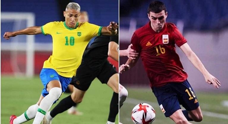 Brazília-Spanyolország olimpiai döntő