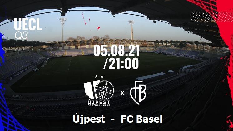 Újpest - Basel