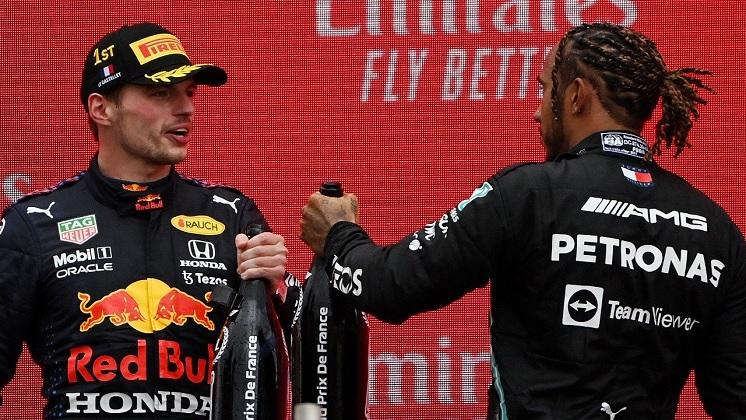 Verstappen-Hamilton Formula1