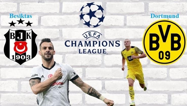 Besiktas-Dortmund Bajnokok Ligája
