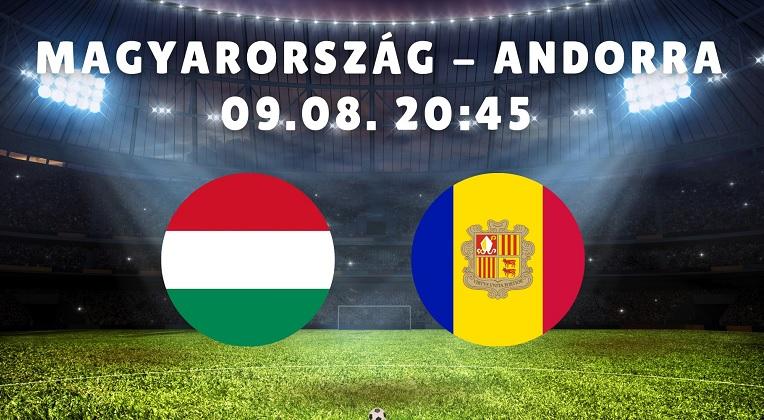 Magyarország-Andorra világbajnoki selejtező