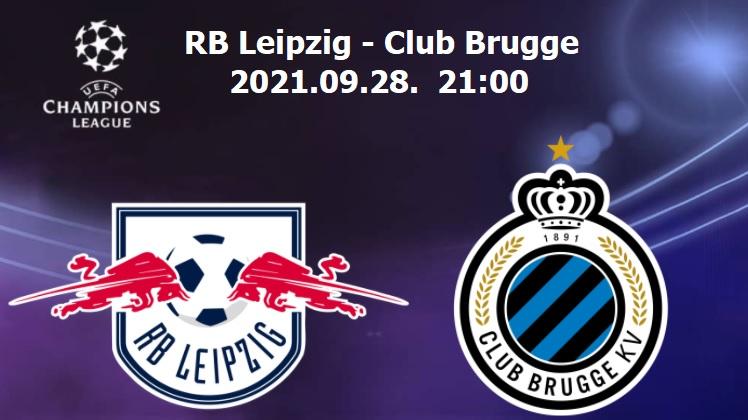 RB Leipzig-Club Brugge Bajnokok Ligája