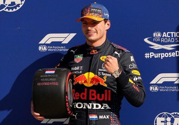 Verstappen Red Bull Pole Position