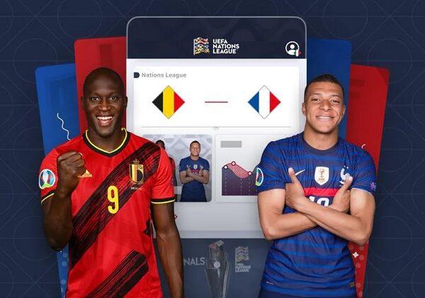 Belgium-Franciaország Nemzetek Ligája